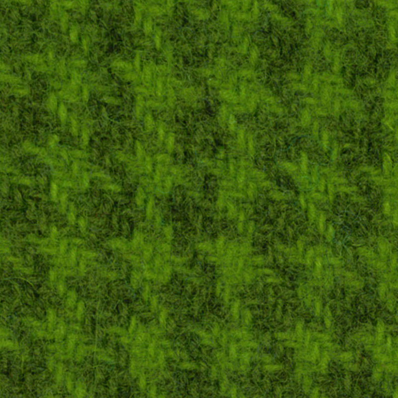 Wool F.Qtr Safe Grn Houndstooth