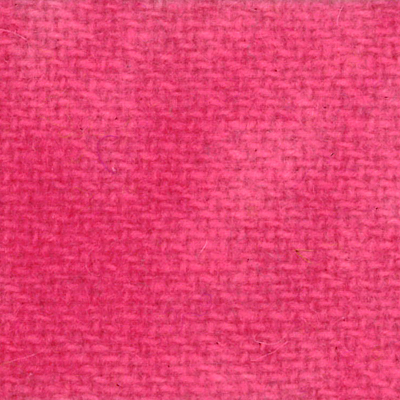Wool F.Qtr Pink Posie Solid
