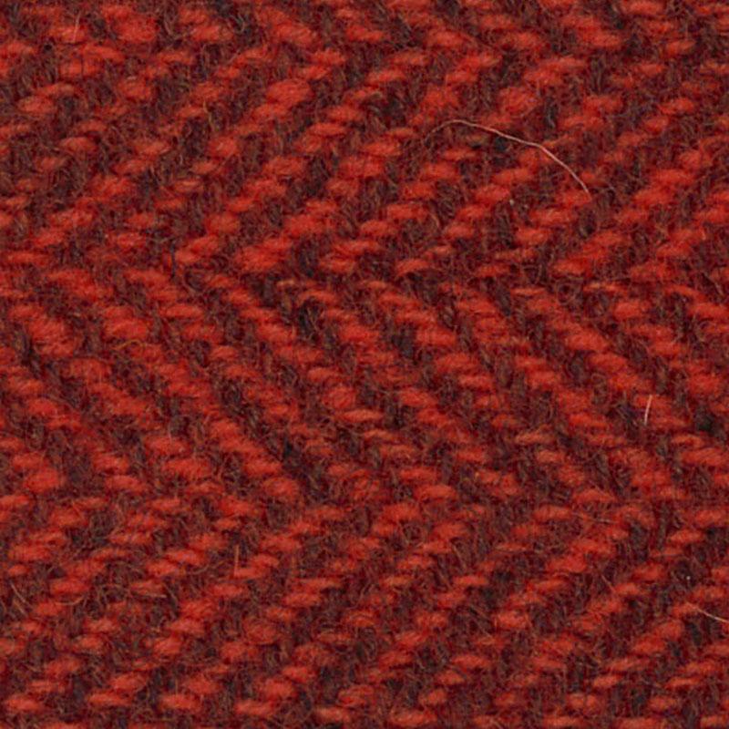 Wool FQ Tangerine Herringbone