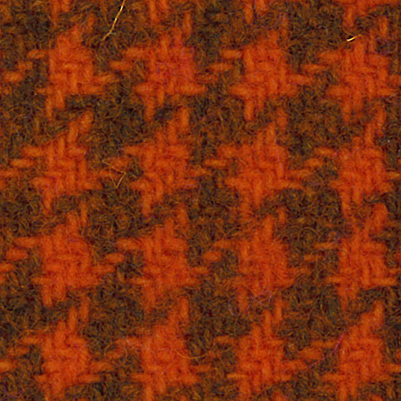 Wool F.Qtr Oriole Houndstooth