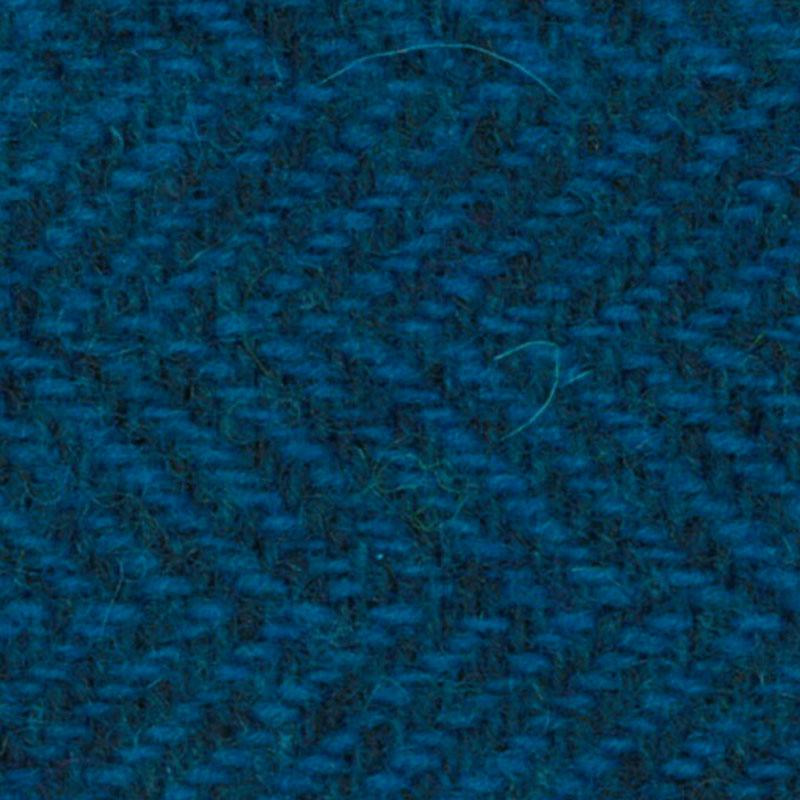 Wool F.Qtr Elec Blu HerringBone