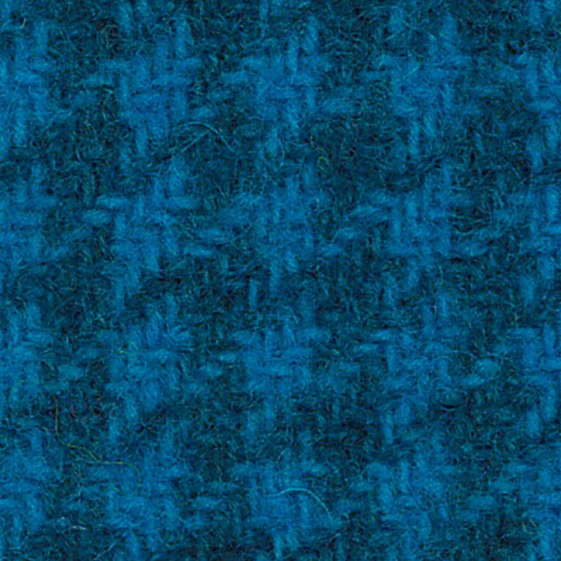 Wool F.Qtr Elec Blu Houndstooth PRI 5138