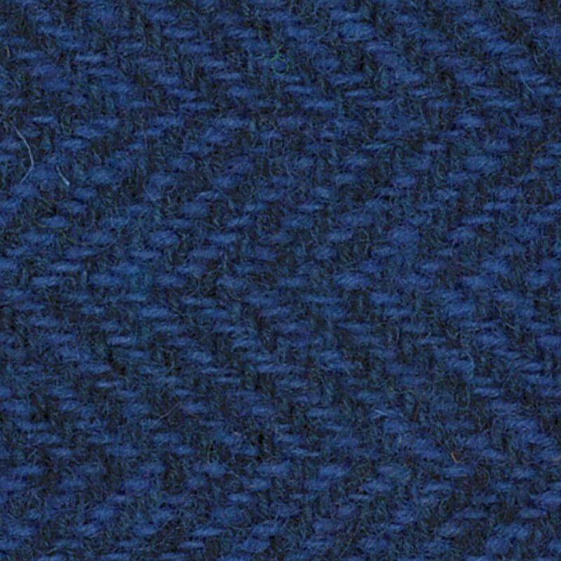 Wool F.Qtr Sky Blue HerringBone