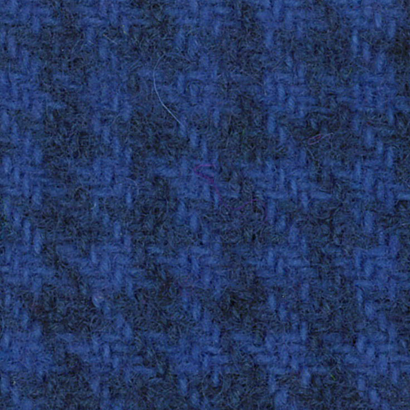 Wool F.Qtr Sky Blue Houndstooth