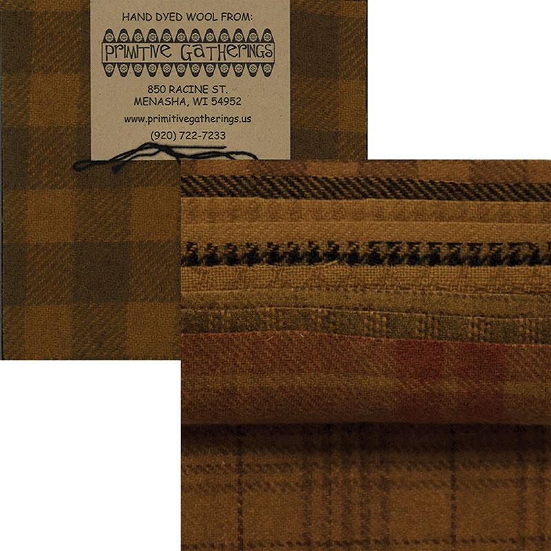 Wool 5 Charm Mustard