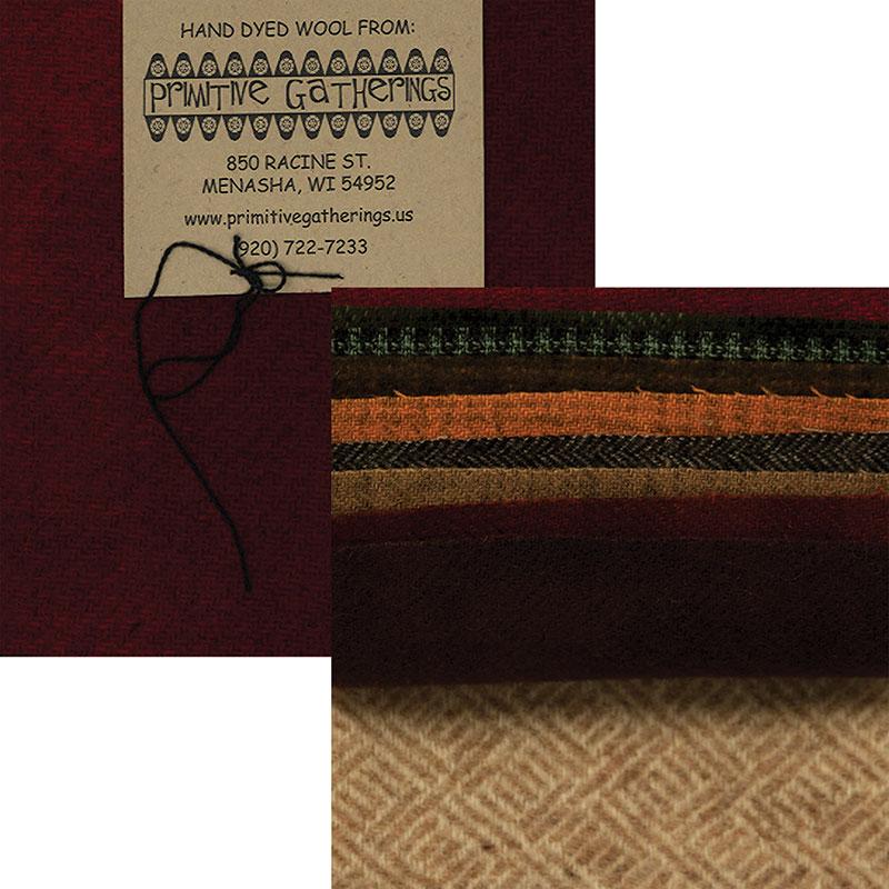 Prim Gatherings Wool Charm Pack Assorted 10