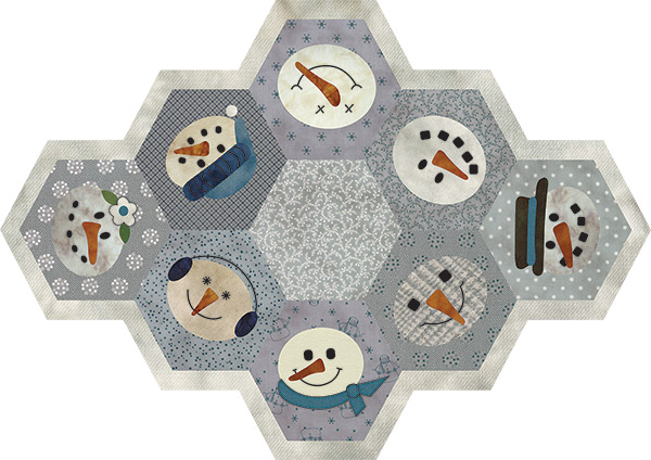 Snow Buddies Table Mat
