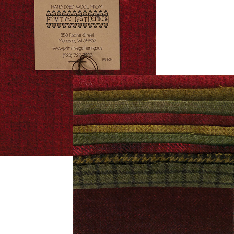 Wool 5 Charm Holiday