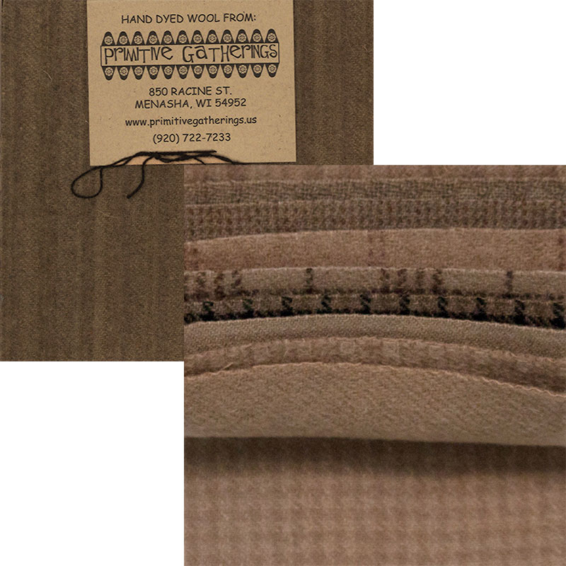 Wool 5 Charm Pack - Taupe