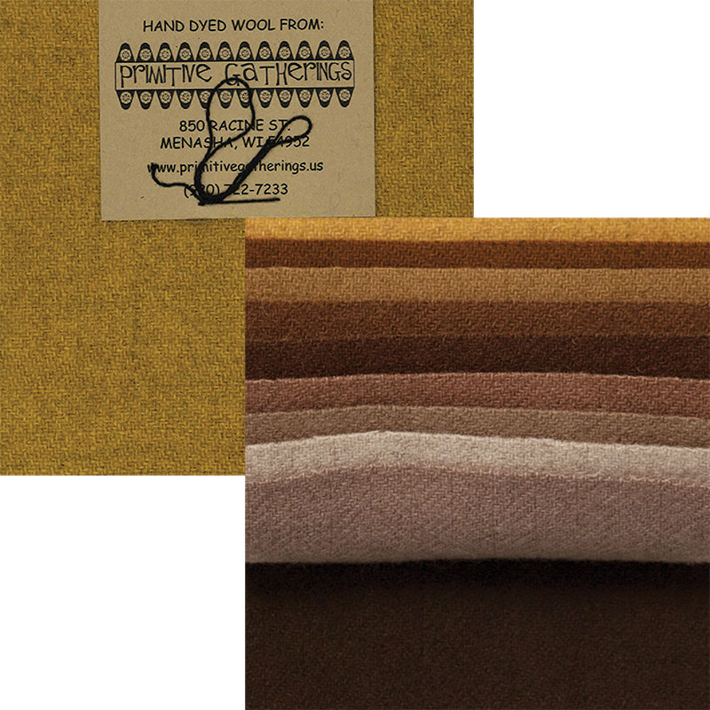 Wool 5 Charm Primitive 1