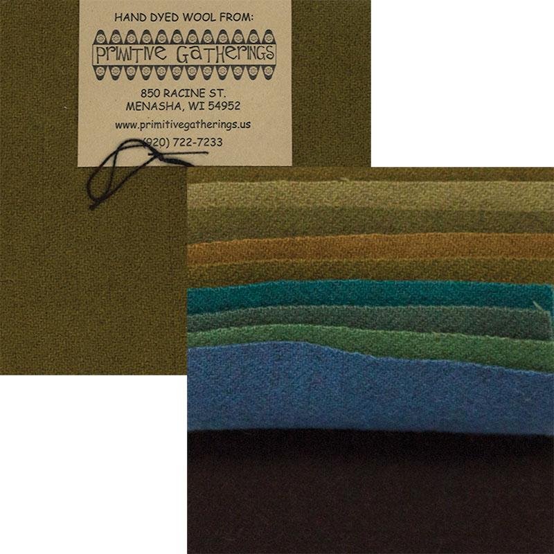Ptimitive Gatherings Wool 5 Charm-  Primitive 2