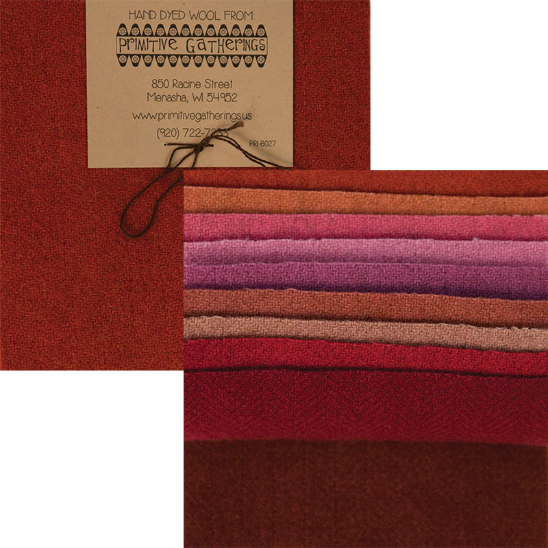Wool 5 Charm Primitive 3