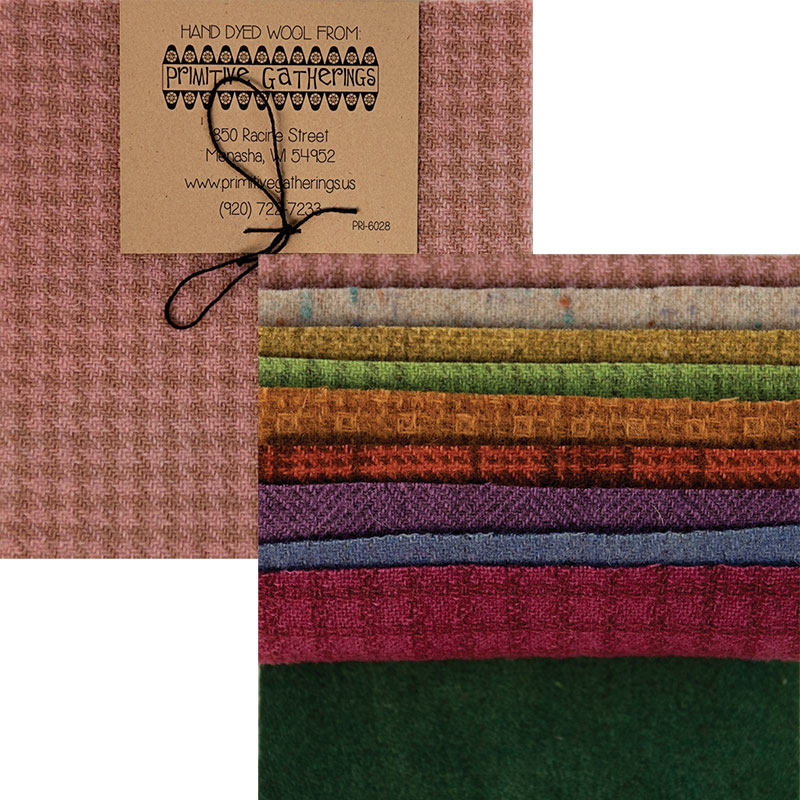 Wool 5 Charm Pastel Texture