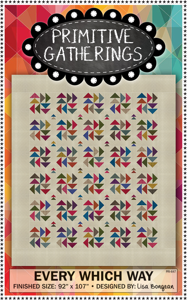 Every Which Way Quilt Pattern by Primitive Gatherings PRI647