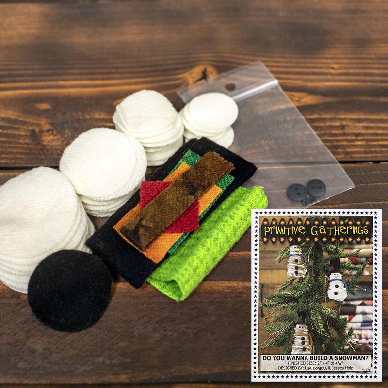 Do You Wanna Build A Snowman Wool Kit