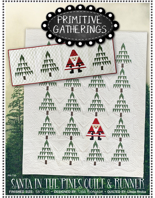 Santa In The Pines