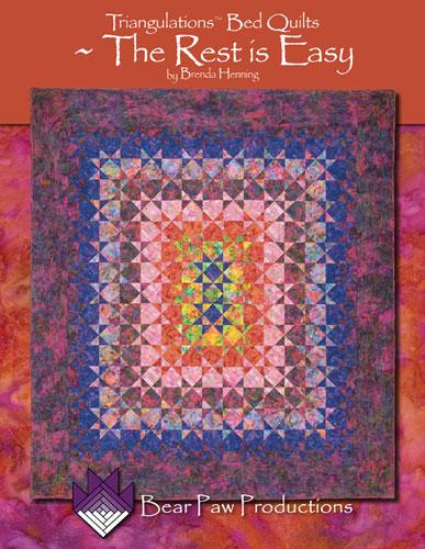 Triangulations Bed Quilts ~ The Rest is Easy