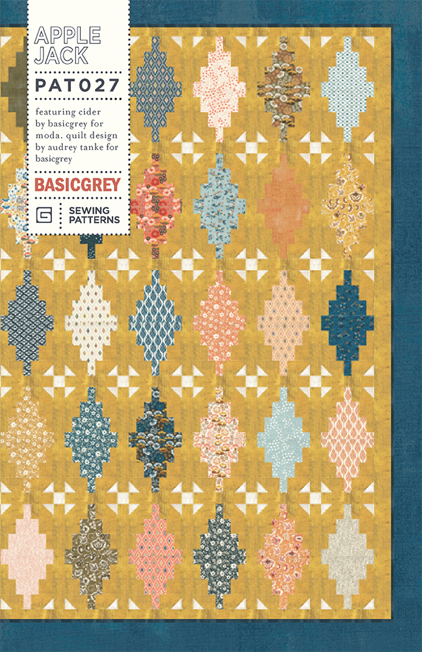 Apple Jack Quilt Pattern by Basic Grey