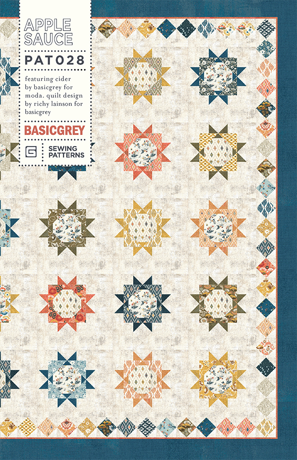 Apple Sauce Quilt Kit by Basic Grey