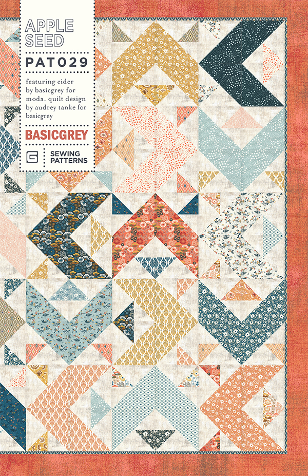 Apple Seed Paper Pattern by Basic Grey
