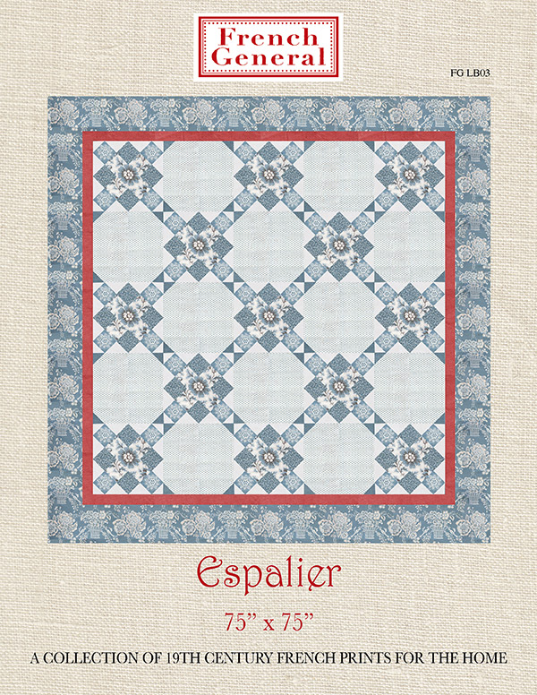 Espalier Quilt Kit/French General