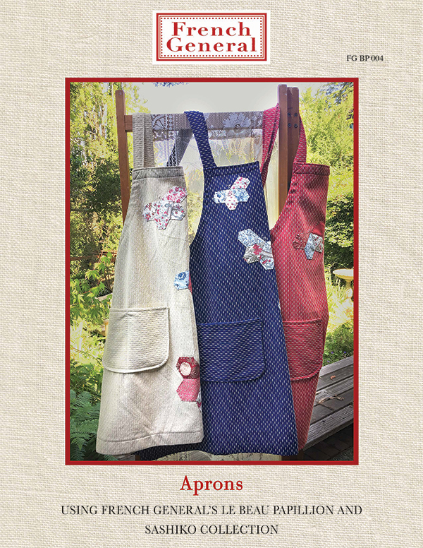 PT S French General Crossback Aprons