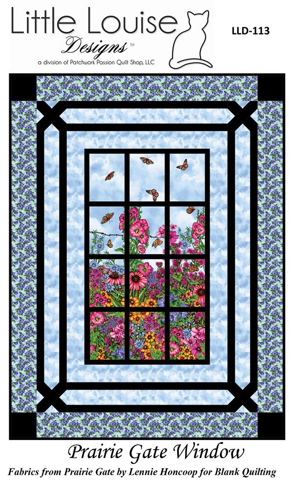 Prairie Gate Window pattern