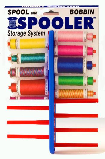 Spooler Spool & Bobbin Storage