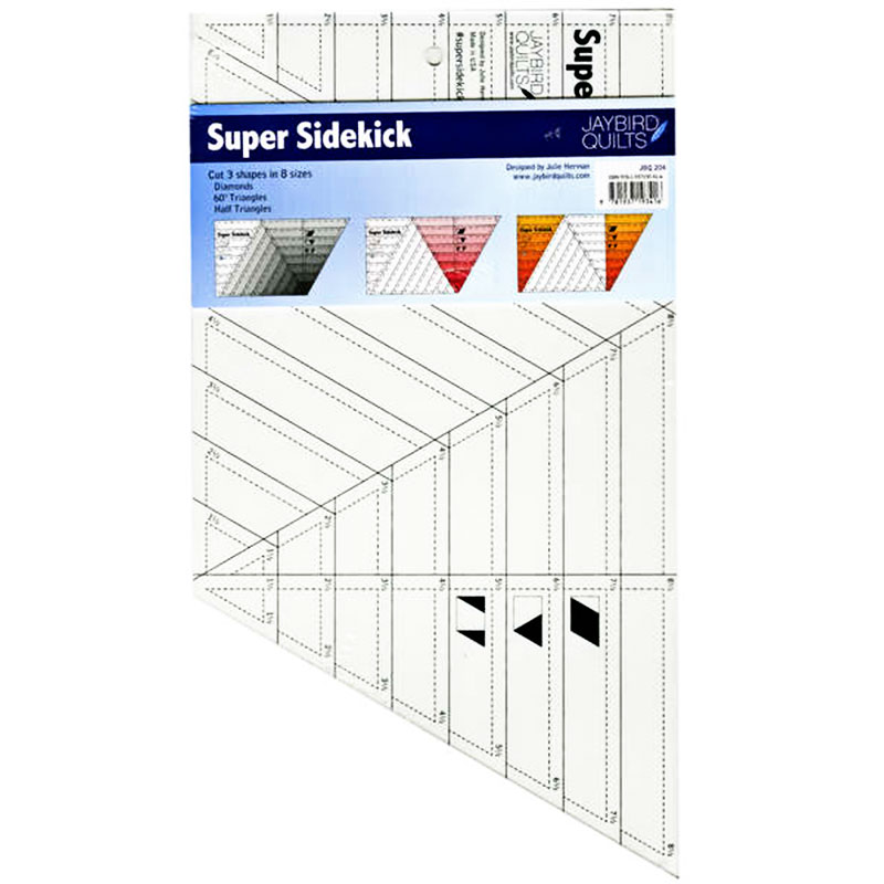Jaybird Quilts - Super Sidekick Ruler