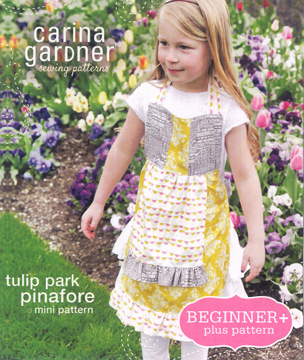 Tulip Park Pinafore Carina Gardner (4-10)