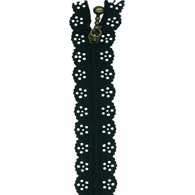 Little Lacie Zipper 8 Black