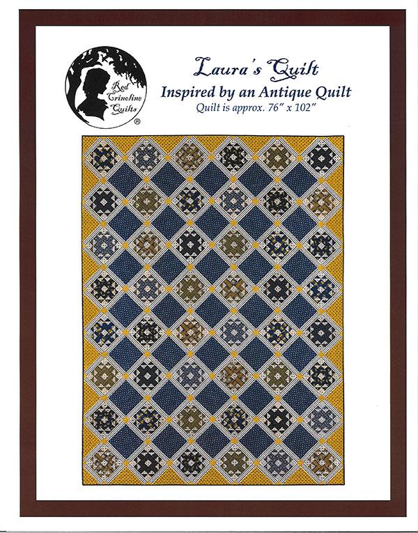 Red Crinoline Quilts - Lauras Quilt