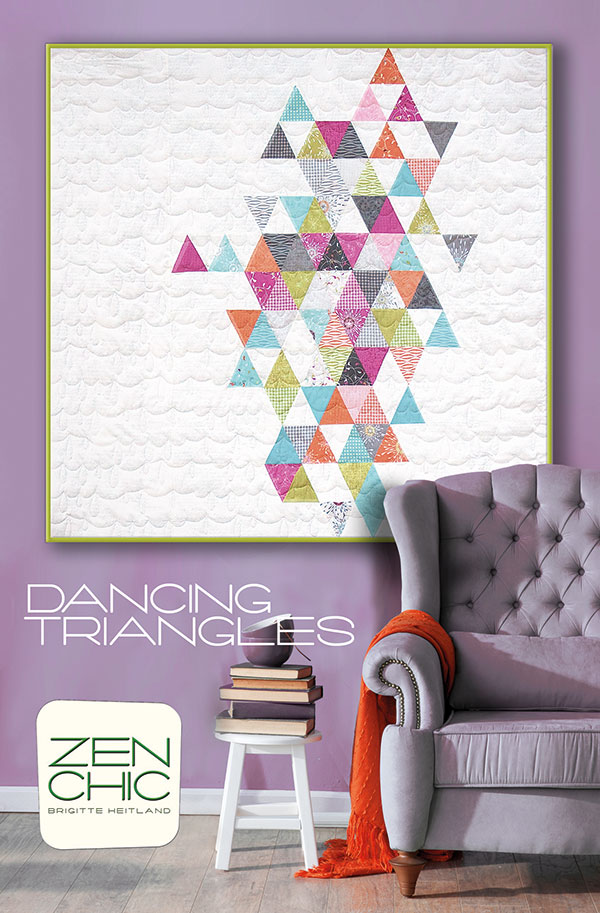 Dancing Triangles ZENDTQP Zen Chic