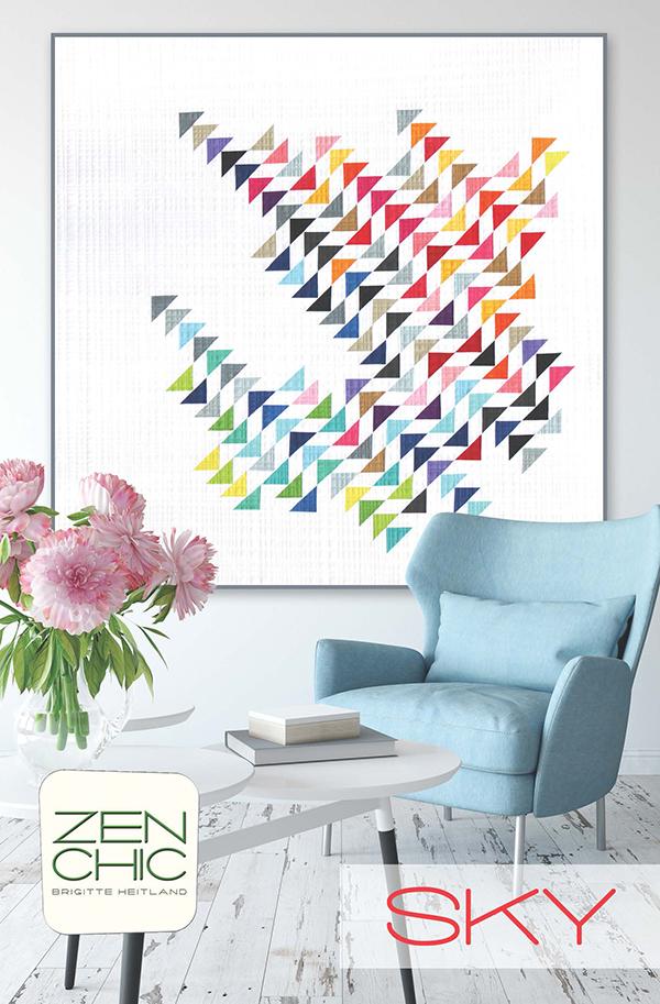 Sky Pattern by Zen Chic