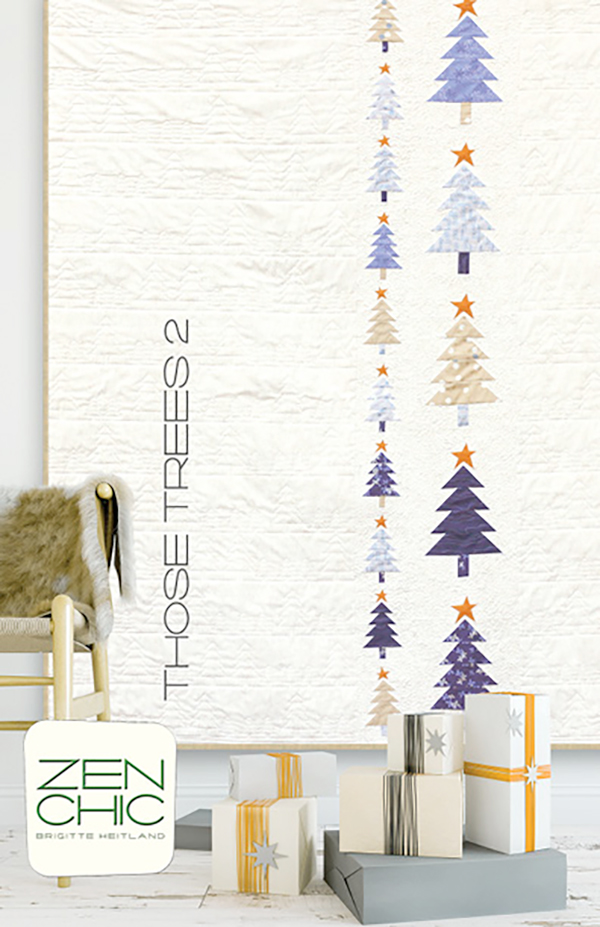 Those Trees 2 Quilt Pattern by Zen Chic