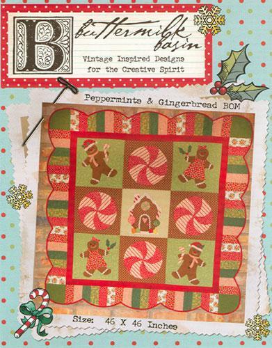 Peppermints & Gingerbread BOM * Pattern
