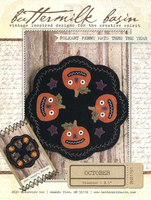Folkart Penny Mats/Oct Kit