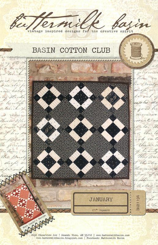 Basin Cotton Club January