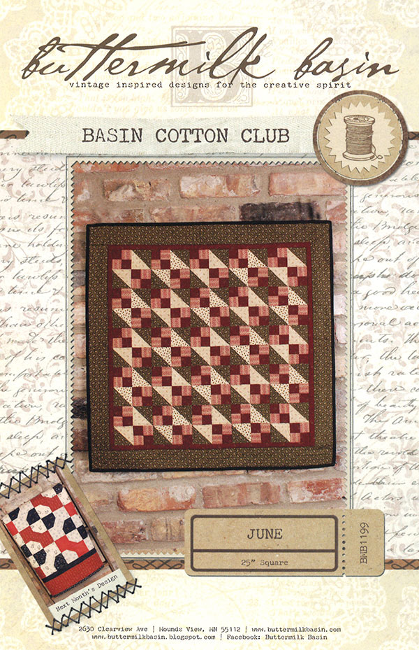 Basin Cotton Club June