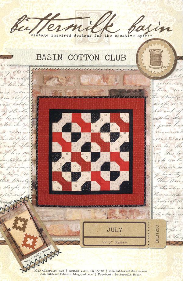 Basin Cotton Club July