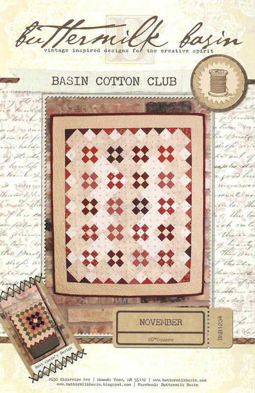 Basin Cotton Club November