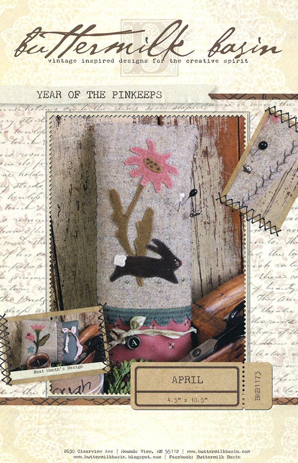 Year Of Pinkeeps - April