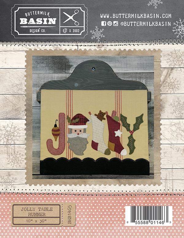 Jolly Table Runner by Buttermi