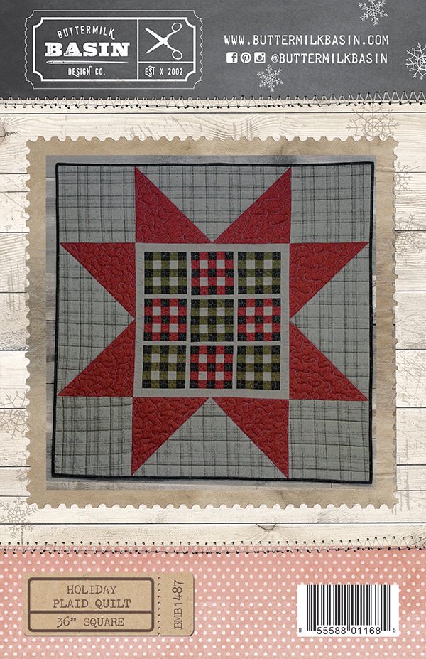 Holiday Plaid Quilt