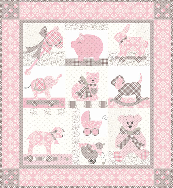Bunny Hill Sweet Dreams Lily pattern