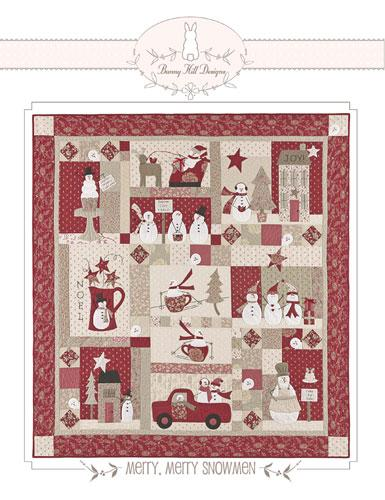 Merry Merry Snowmen BOM pattern
