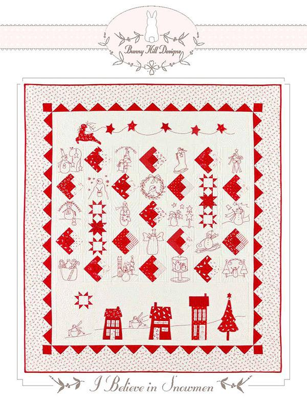I Believe In Snowmen Quilt Kit