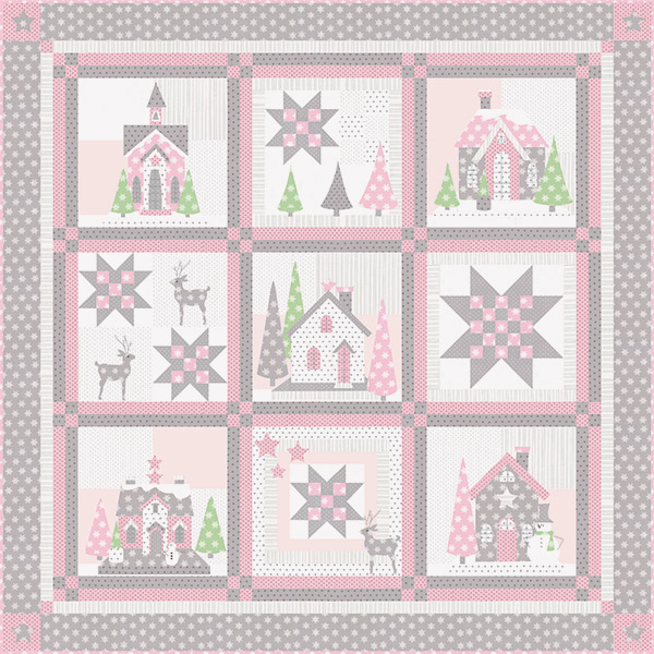 Bunny Hill Design's Glitter Houses - Made in USA