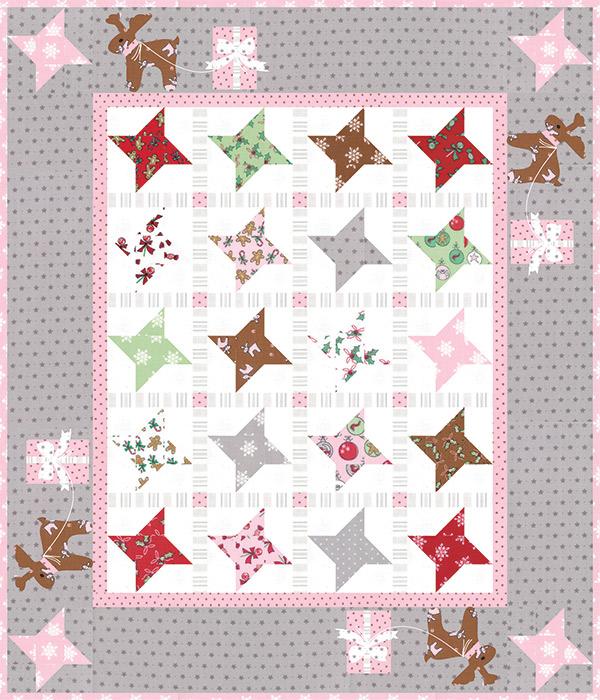Mini Sugar Stars Pattern 2119