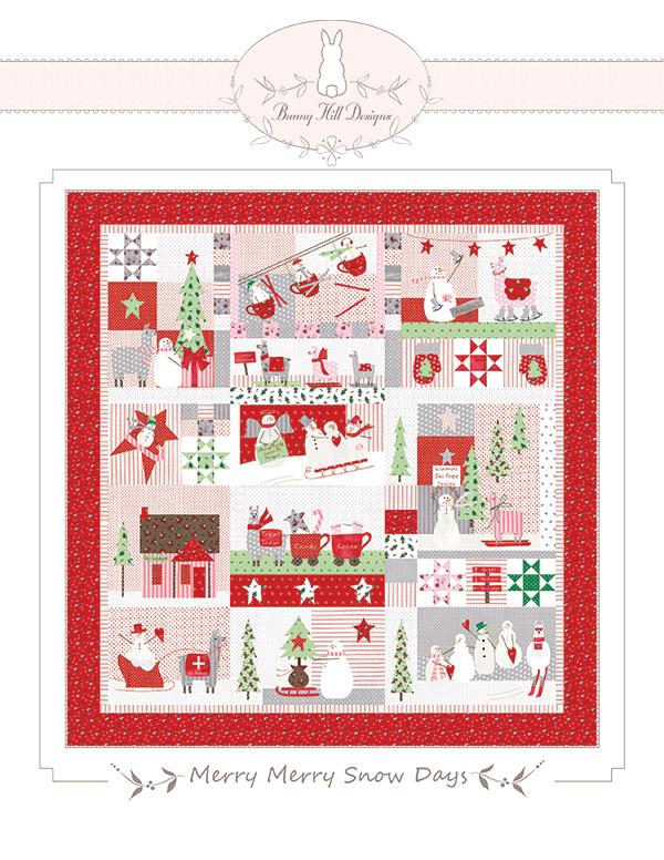 Merry Merry Snow Days Applique Kit